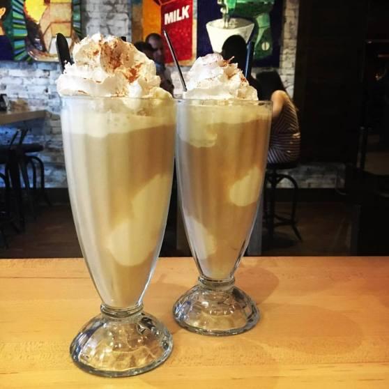 Kaminsky's cappuccino floats